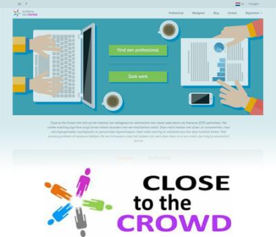 Close to the Crowd - Klant bij Online Daadkr8